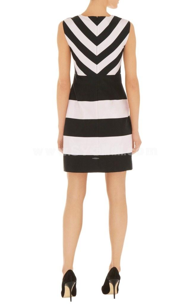 2013 New Arrival Sleeveless Slim Lady Dress Evening Dress DQ073