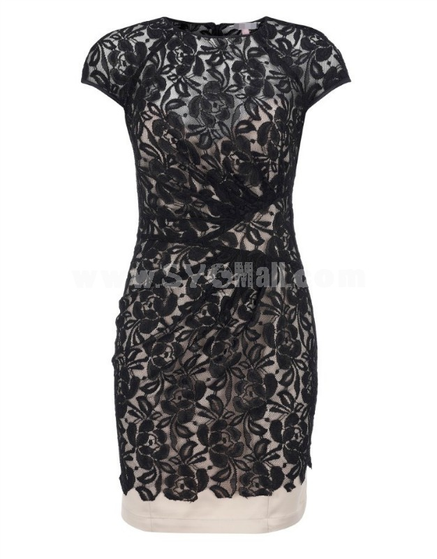 2013 New Arrival KM Lace Slim Dress Evening Dress KM002