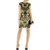 Wholesale - Elegant Printing Slim Hip Package Dress Evening Dress CD083