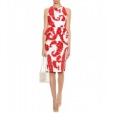 Wholesale - Round Neck Sleeveless Lady Dress Evening Dress KC096