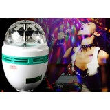 Wholesale - Sound Activated LED Crystal Magic Ball, Disco/Starry Sky  (DC5V)