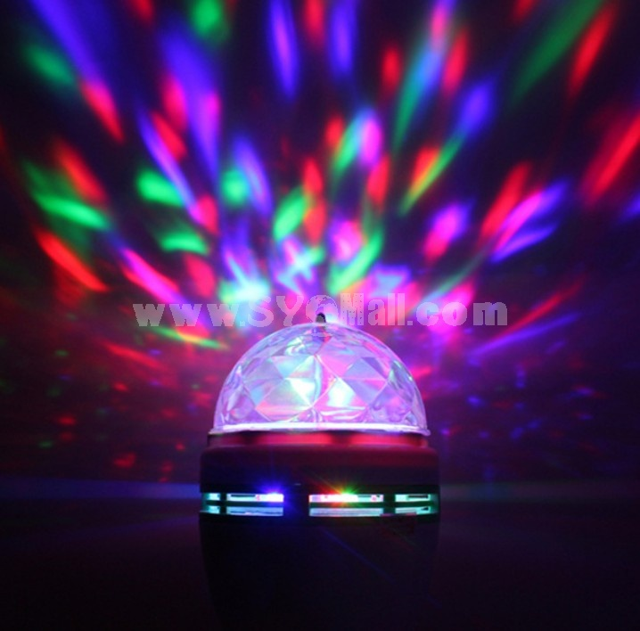 Sound Actived Mini LED Crystal Magic Ball for Disco Party Stage (DC5V)