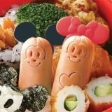 Wholesale - Cute Cartoon Character DIY Sausage Mold Creative Kitchen Tool