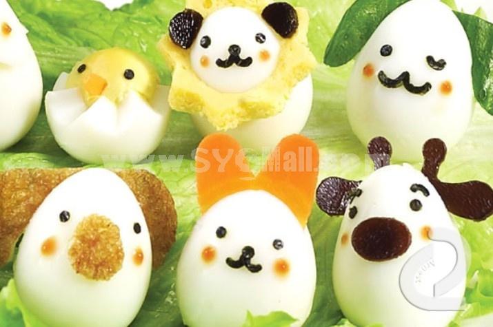 Cute DIY Quail Egg Mold Creative Kitchen Tool