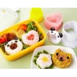 Wholesale - Cute Panda Pattern DIY Rice Mold Creative Kitchen Tool Set