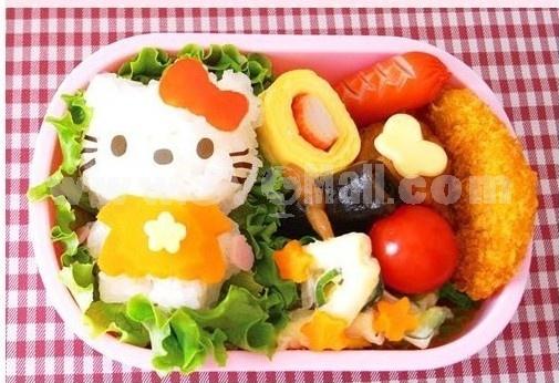 Cute Cat DIY Rice Mold Creative Kitchen Tool