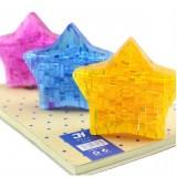 wholesale - Exquisite 3D Star DIY Jigsaw Crystal 46PCs