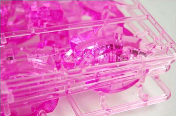 Exquisite 3D Penguin DIY Light Jigsaw Crystal 63PCs