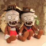 Wholesale - Plants vs Zombies 2 Series Plush Toy Cowboy Zombie 30cm/12inch Tall