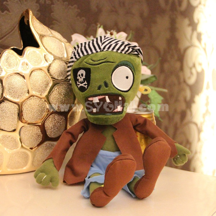 """Plants vs Zombies 2 Series Plush Toy Pirate Small Size 30*12CM/12*5"""""""