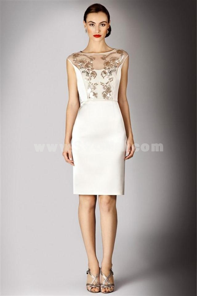 2013 New Arrival Embroidery Decoraion Slim Dress Evening Dress YE010