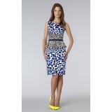 Wholesale - Euameriacan Style Simple Painting Slim Dress Evening Dress CT6287