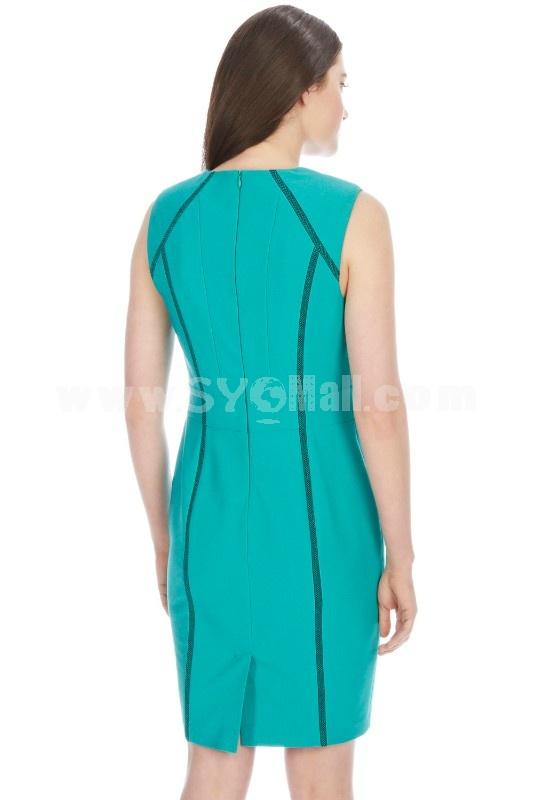 2013 New Arrival Elegant Slim Dress Evening Dress