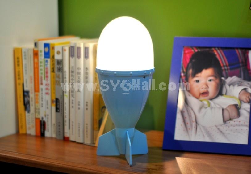 Creative Cute Missile Shape Night Light