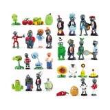 wholesale - 32 x Plants vs Zombies Toys Series Game Role Figures Display Toy PVC Decorations