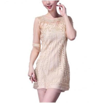 http://www.orientmoon.com/84826-thickbox/2013-new-arrival-5th-sleeve-grenadine-style-round-neck-slim-dress-evenning-dress-kc082.jpg