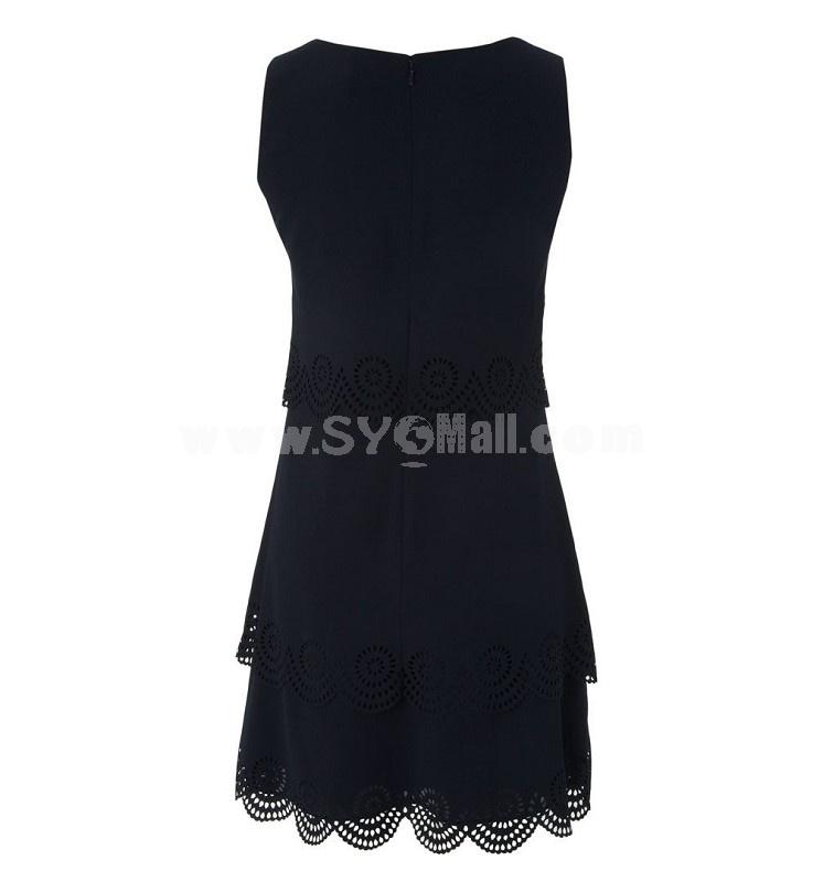 KM 2013 New Arrival Lace Black Slim Dress Evenning Dress Bottoming DQ271