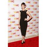 Wholesale - Fashion Style Solid Color Sleeveless Slim Dress Evenning Dress