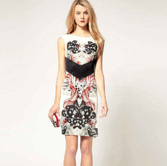 2013 New Arrival Sexy Backless Slim Dress Evening Dress DM211