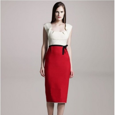 http://www.orientmoon.com/84921-thickbox/2013-new-arrival-red-and-white-color-contrast-polo-collar-slim-dress-evening-dress.jpg