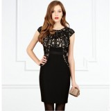 Wholesale - Coast  Vintage Style Exquisite Embroidery Extra-large Size Slim Dress Evening Dress
