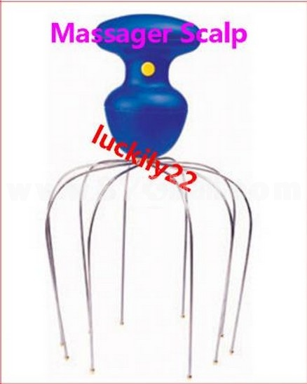 NEW Motorized Massager Scalp for Head Joints Muscles