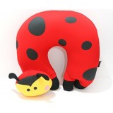 wholesale - Comfort Foam Particles U Neck Travel Pillow Cute Cartoon Pattern -