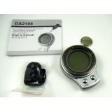 Wholesale - Mini 6 in 1 Digital Altimeter Compass Barometer Thermometer Silver