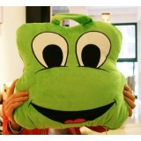 Wholesale - Comfort Multifunction Blanket Pillow 2 in 1 Travel Pillow - Frog
