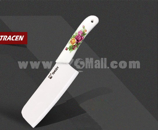 TRACEN Ceramic Antibacterial Kitchen Chopping Knife 28cm/11inch