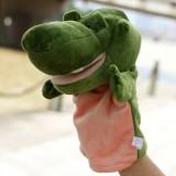Wholesale - Cartoon Madagascar Animal Hand Puppet Plush Toy - Crocodile