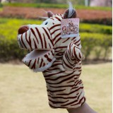 wholesale - Nici Cartoon Animal Hand Puppet Plush Toy - Tiger