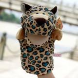 wholesale - Nici Cartoon Animal Hand Puppet Plush Toy - Leopard