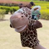 Wholesale - Cartoon Madagascar Animal Hand Puppet Plush Toy - Giraffe