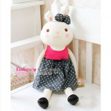 "Wholesale - Plush Bunny with Sundress Stuffed Toy 70cm/27.5"""