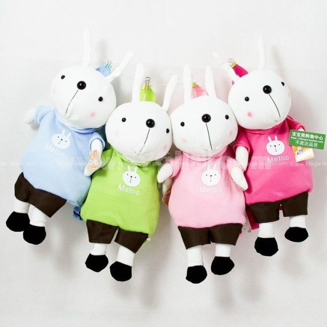 55cm/21.6inch Cute Metoo Cartoon Children Backpack Plush Toy