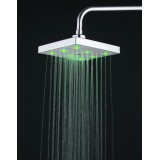 Wholesale - Fun & Romantic LED Light Attachable Bathroom Shower Head (Temperature Sensing Color Changer)