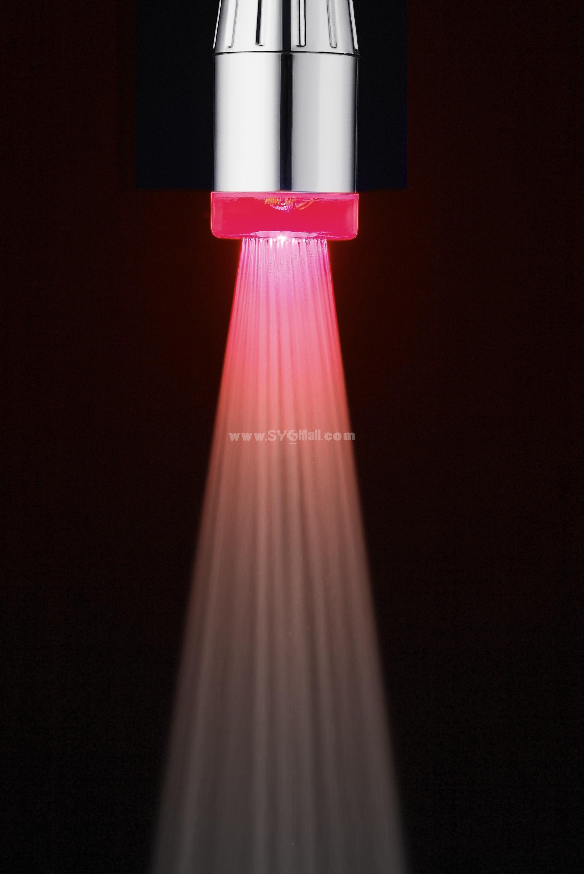Romantic Bright Color LED Lights Faucet Mouth HY-2006Q (7 Colors)