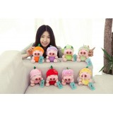 "Wholesale - 8pcs/Lot Fruit McDull Plush Toy Pig Stuffed Animals 18cm/7"" Tall"