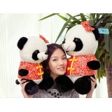 "Wholesale - Cartoon Panda Plush Doll Plush Toy 35cm/13.8"""