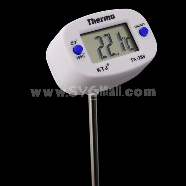 Digital Cooking Thermometer For Kitchen Food Meat BBQ