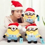 Wholesale - New Year / Christmas DESPICABLE ME Minions Plush Doll Plush Toy 25cm/9.8""