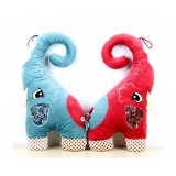Wholesale - Chinese Standing Elephant Cushion Plush Toy 70cm/27.5""