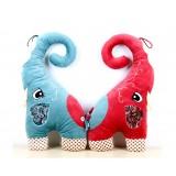 """Wholesale - Chinese Standing Elephant Cushion Plush Toy 70cm/27.5"""""""
