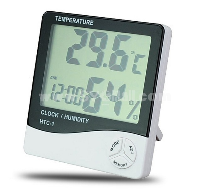 Digital Temp Humidity Meter Hygro Thermometer - LCD
