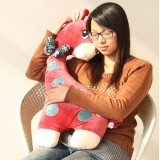 "Wholesale - Large Giraffe Cushion Throw Pillow Plush Toy 70cm/27.5"""