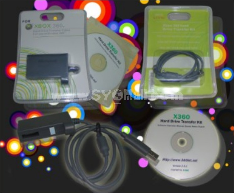 XBox Hard Drive Transfer Cable+CD