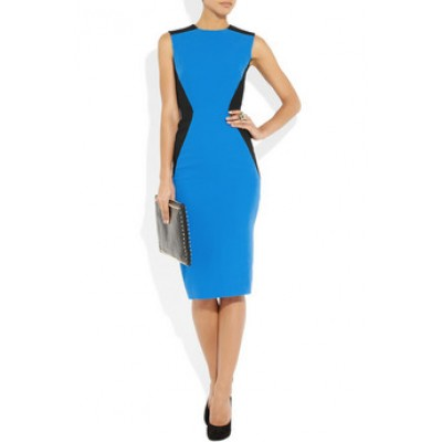 http://www.orientmoon.com/86024-thickbox/blue-black-color-joint-sleeveless-midium-dress-evening-dress.jpg