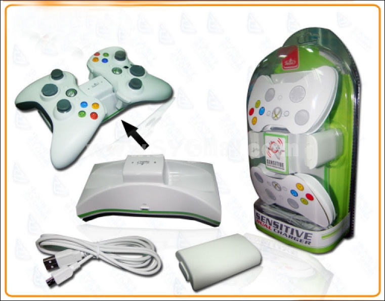 Xbox 360 Dual Charge station for Controller