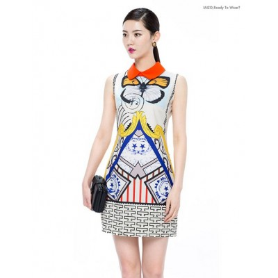 http://www.orientmoon.com/86084-thickbox/km-polo-collar-flower-painting-dress-evening-dress.jpg
